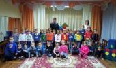 Инспектор ГИБДД в гостях у дошкольников