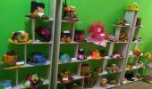 """Выставка совместного творчества детей и родителей """"Осенние шляпы"""""""